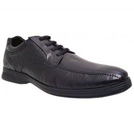 Imagem - Sapato Social Confortável Com Cadarço Pipper Emold 55508NC - Preto