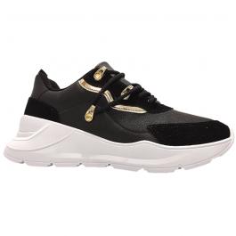 Imagem - Tênis Chunky Sneaker Vizzano 1360.103 Preto Dourado
