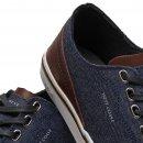 Sapatênis Masculino West Coast Tecido Jeans 203416 3