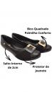Sapato Salto Baixo Comfortflex 21-84304 4
