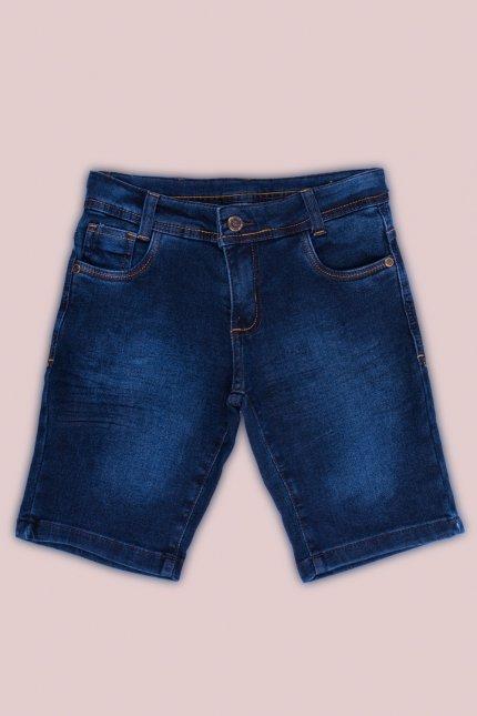 Imagem - Bermuda Jeans Infantil Menino
