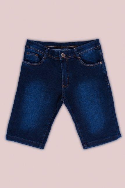 Imagem - Bermuda Jeans Juvenil Menino