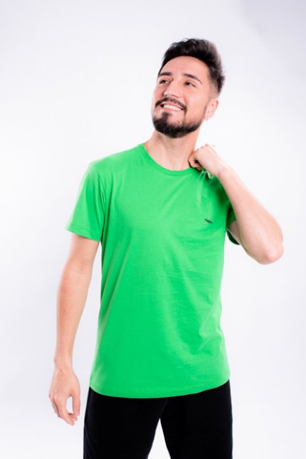 Imagem - Camiseta Masculina Manga Curta Verde