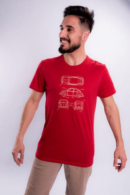 Imagem - Camiseta Masculina Manga Curta Carros