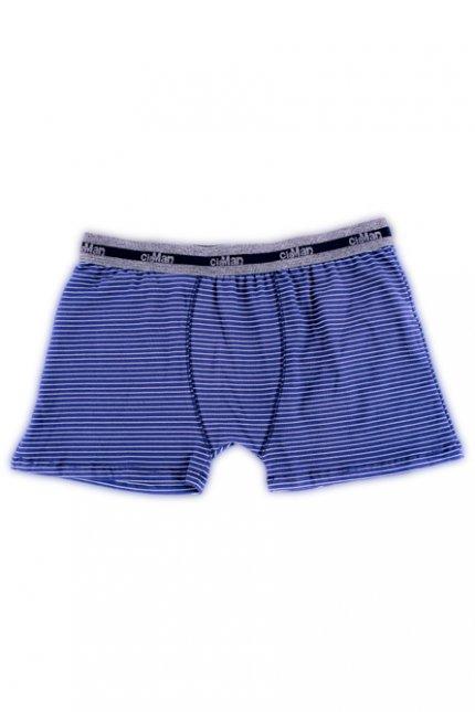 Imagem - Cueca Boxer Cotton Plus Size Listrada