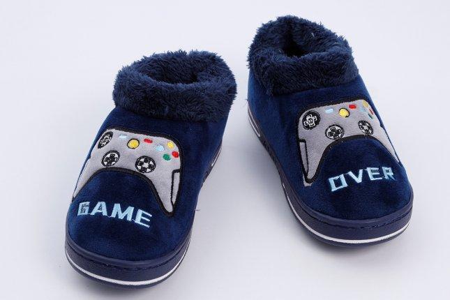 Imagem - Tênis Pantufa Infantil Calce Fácil Geek Game Over