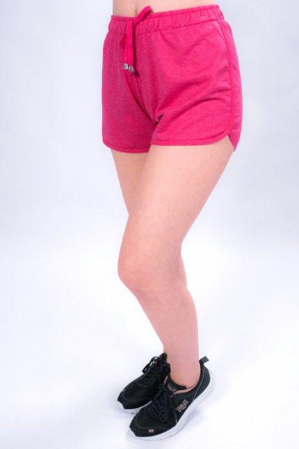 Imagem - Short Moletinho Feminino com Elástico e Cordão