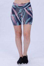 Imagem - Bermuda Poliamida Feminina Geométrico
