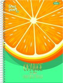 Imagem - Caderno Fruit Lovers 10 Matérias 200fls