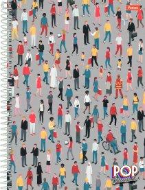 Imagem - Caderno Pop Collection 1 Matéria 96fls