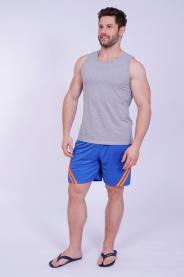 Imagem - Calção Dry Masculino Azul Com Viés e Forro