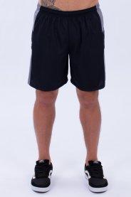 Imagem - Calção Dry Masculino Com Recorte e Viés Com Forro