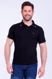 Imagem - Camisa Malha P.A Masculina Gola Pólo Com Bolso