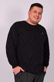 Imagem - Camiseta Jet Flamê Plus Size Masculina Preta