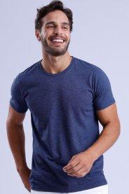 Imagem - Camiseta Masculina Gola Redonda Manga Curta
