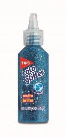 Imagem - Cola Glitter Tris Azul 23g