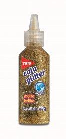 Imagem - Cola Glitter Tris Ouro 23g
