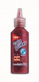 Imagem - Cola Glitter Tris Vermelha 23g