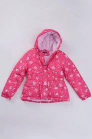 Imagem - Jaqueta Bebê Fleece Pink Estampada