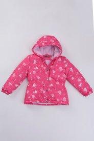 Imagem - Jaqueta Flecce Infantil Pink Estampada