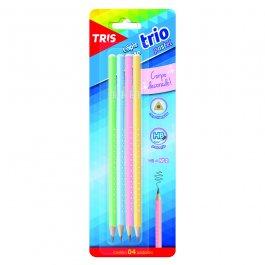 Imagem - Lápis Tris Tons Pastel C/4