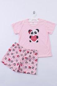 Imagem - Pijama Infantil Silk Panda