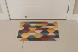 Imagem - Tapete Retangular Mosaico 58x38
