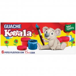 Imagem - Tinta Guache Koala C/6