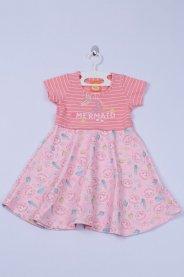 Imagem - Vestido Cotton Bebê Listrado