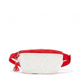 Imagem - Pochete Kipling Fresh Estampada Coca Cola Wild Red