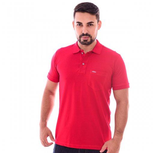 Camiseta Gola Polo Vermelha