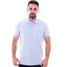 Imagem - Camiseta Gola Polo Azul Claro cód: 083