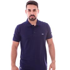 Imagem - Camiseta Gola Polo Azul Marinho cód: 093