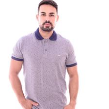 Imagem - Camiseta Gola Polo Azul Marinho Furta Cor cód: 094