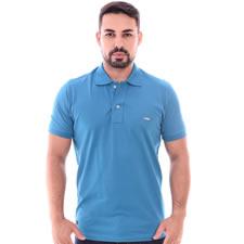 Imagem - Camiseta Gola Polo Azul Petróleo cód: 085