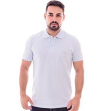 Imagem - Camiseta Gola Polo Branca cód: 084