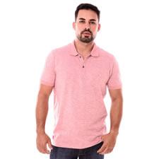 Imagem - Camiseta Gola Polo Rosa Com Detalhe cód: 102