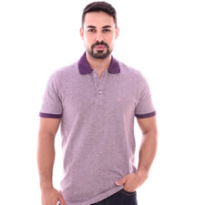 Imagem - Camiseta Gola Polo Roxa Furta Cor cód: 090