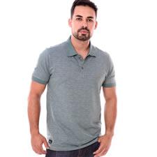 Imagem - Camiseta Gola Polo Verde Mar Escuro cód: 101