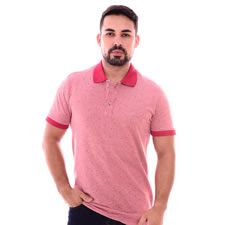 Imagem - Camiseta Gola Polo Vermelha Furta Cor cód: 088