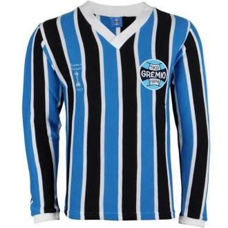 Imagem - Camisa Gremio Retro Libertadores 83 M/L - G-470-318-12