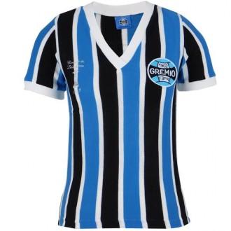 Imagem - Camisa Gremio Feminina Retro Libertadores