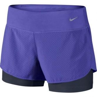 Imagem - Short Nike Fem Rival 2em1 - 645468-518-174-486