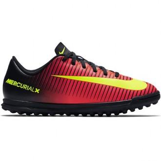Imagem - Chuteira Nike Mercurial Vortex III JR TF Infantil Futebol Society - 831954-870-174-156
