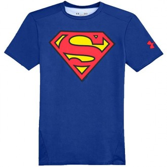 Imagem - Camiseta Under Armour Superman 2.0 Loose - 1260463-403-442-15
