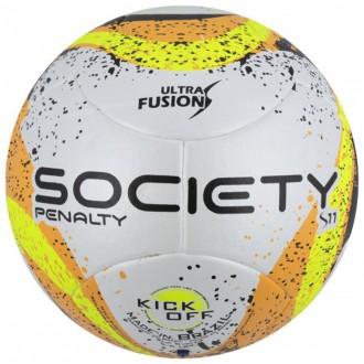 Imagem - Bola Penalty Society S11 R3 Ultra Fusion Vii - 521194-197-348