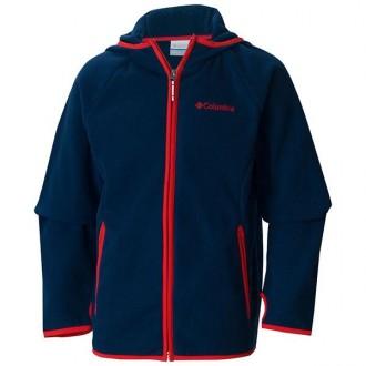Imagem - Jaqueta Columbia Infantil Fleece Fast Trek Hoodie - WY6780-466-428-168