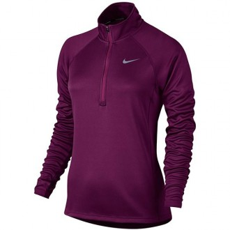 Imagem - Camiseta Nike Feminina Dry 1/3 Zip Top Hz - 831544-665-174-280