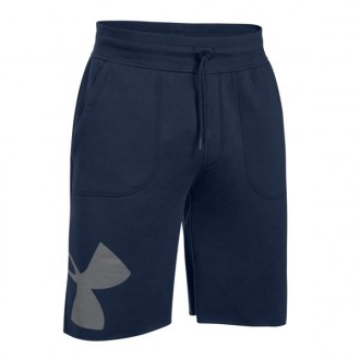 Imagem - Bermuda Under Armour Moletom Rival Exploded Graphic - 1303137-410-442-175