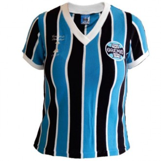 Imagem - Camisa Gremio Feminina Retro Libertadores - GLIBB15-318-20